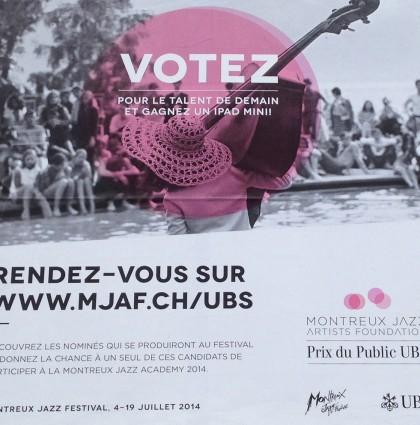 Montreux Jazz Artists Foundation & Prix du Public UBS