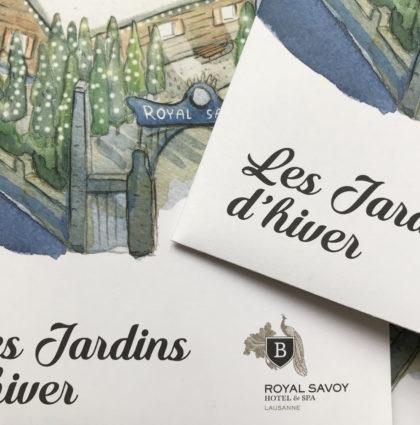 Royal Savoy Hotel & SPA Lausanne / Les jardins d'hiver