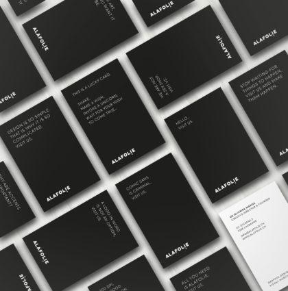 alafolie / Business Cards